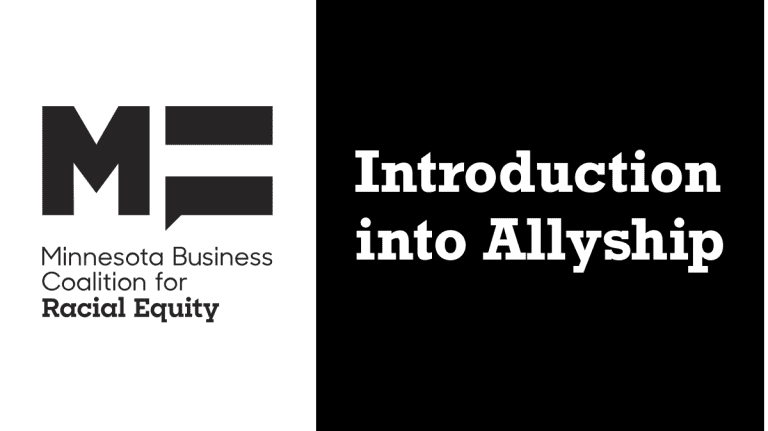 Introduction into Allyship