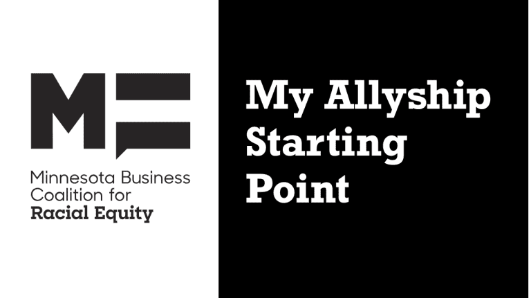 Introduction to Allyship: My Allyship Starting Point