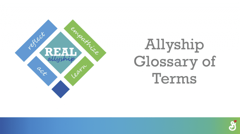 Allyship Glossary of Terms