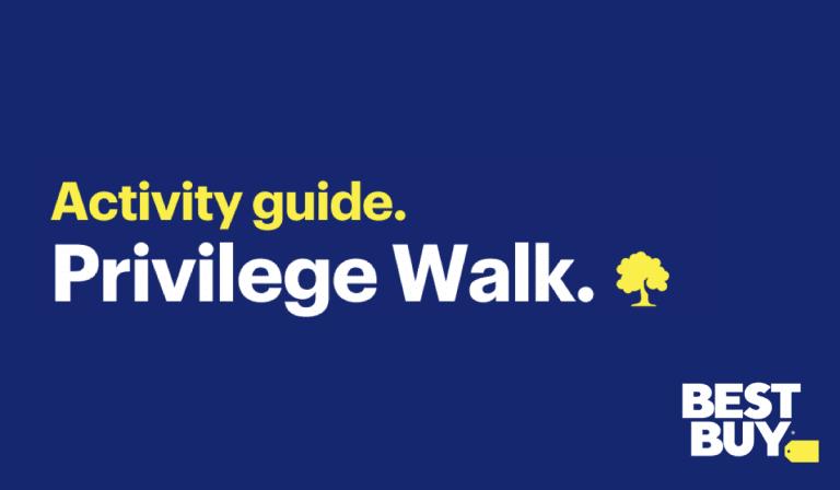 Privilege Walk Activity
